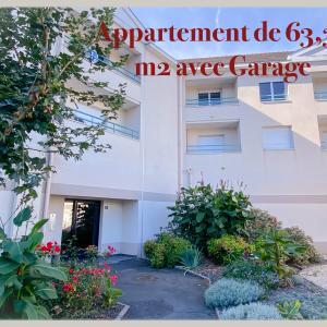Appartement de type 2 de 63 m²