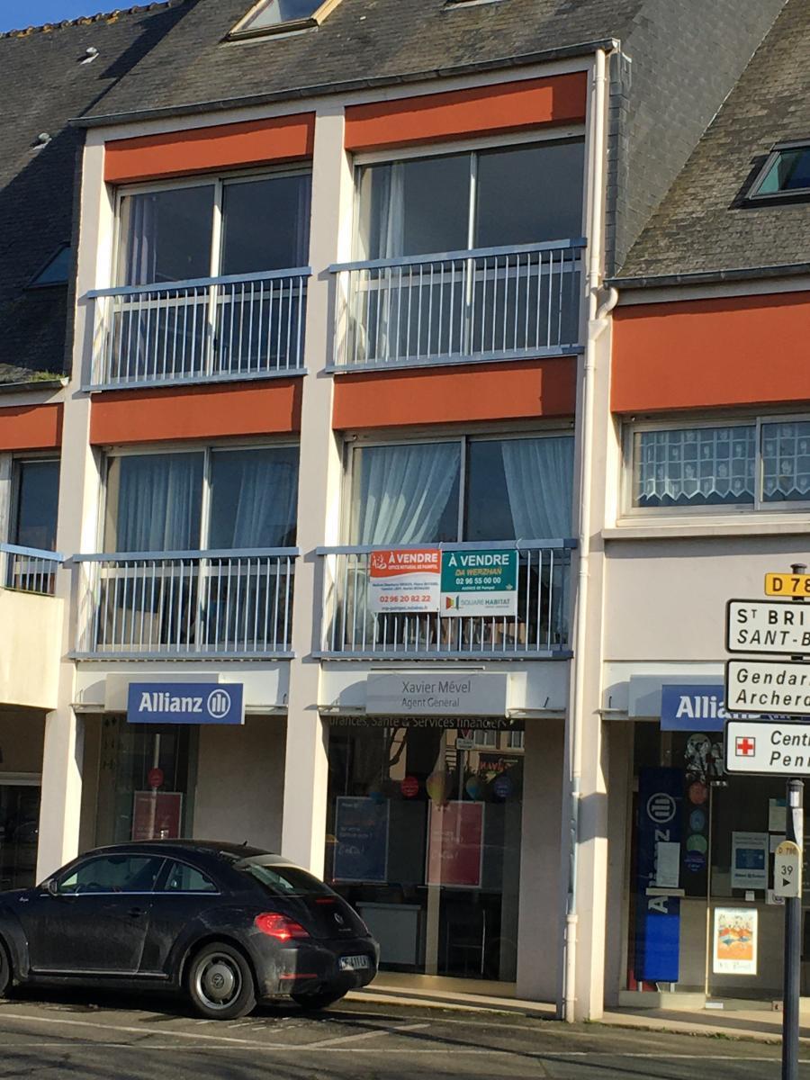 A VENDRE APPARTEMENT - 22500 PAIMPOL centre ville