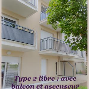 Appartement de type 2 Libre en novembre