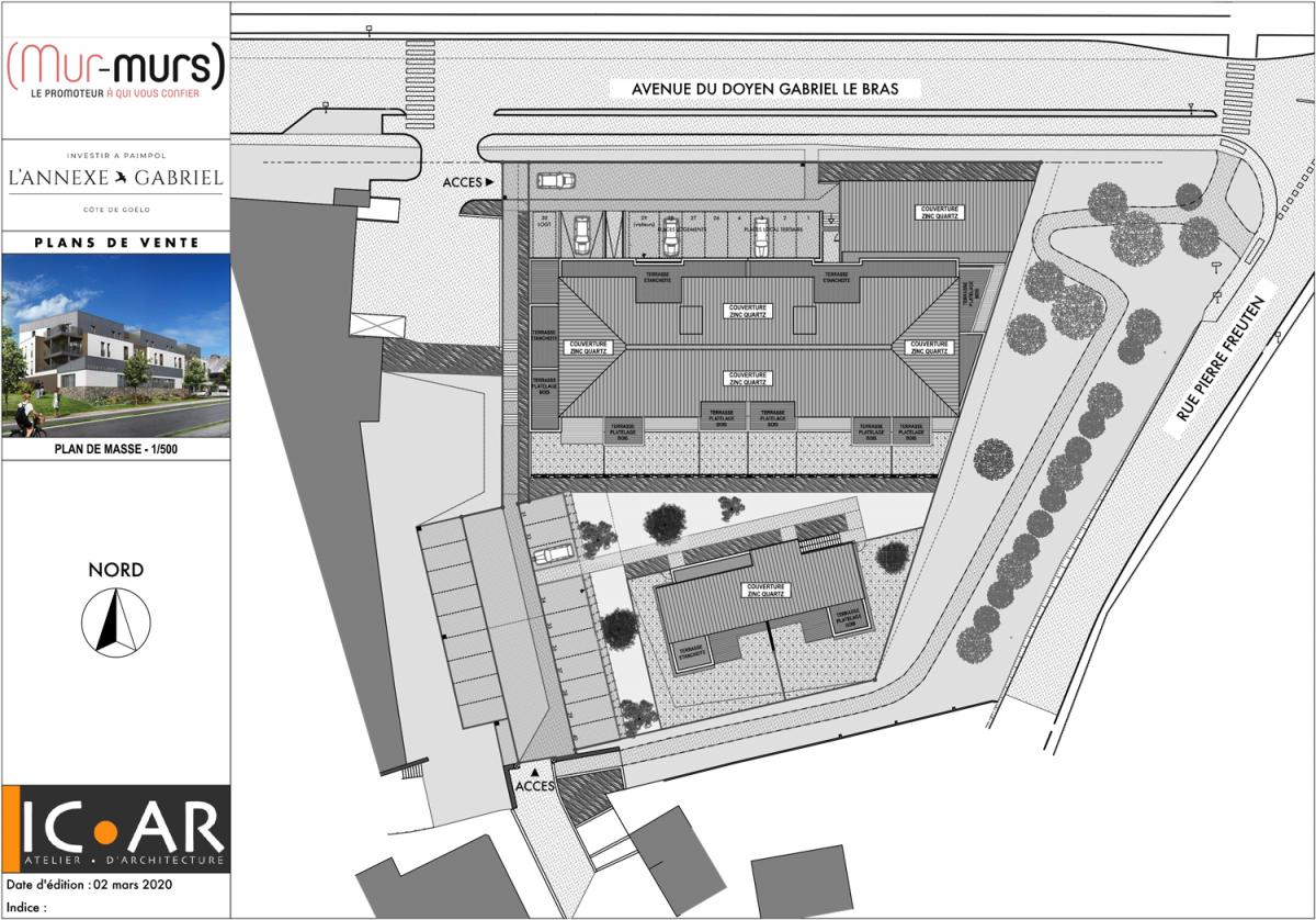 A VENDRE APPARTEMENT EN VEFA  - 22500 PAIMPOL - centre ville